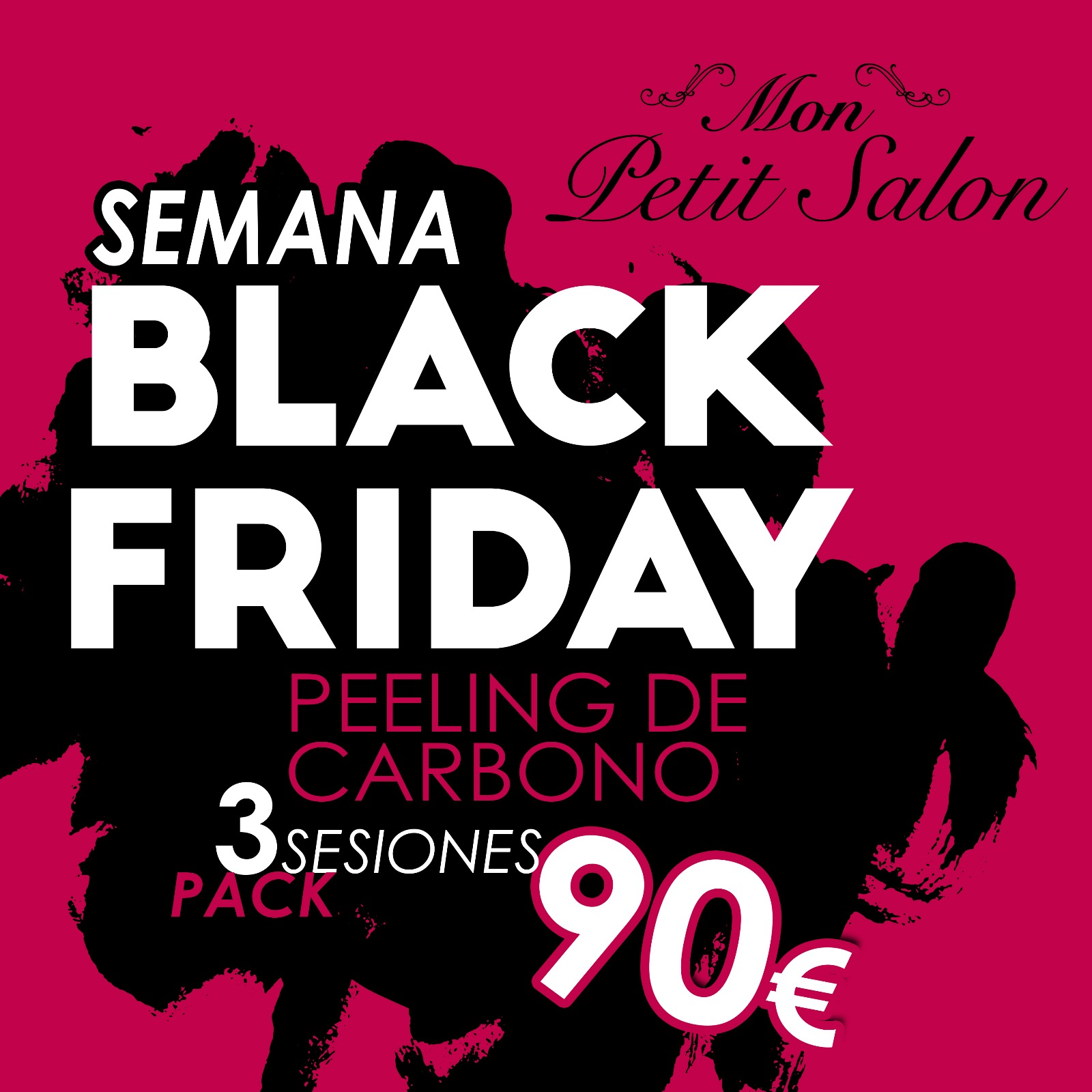 BLACK FRIDAY Mon Petit Salon Oferta peeling carbon